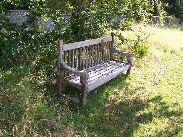 bench by c734
